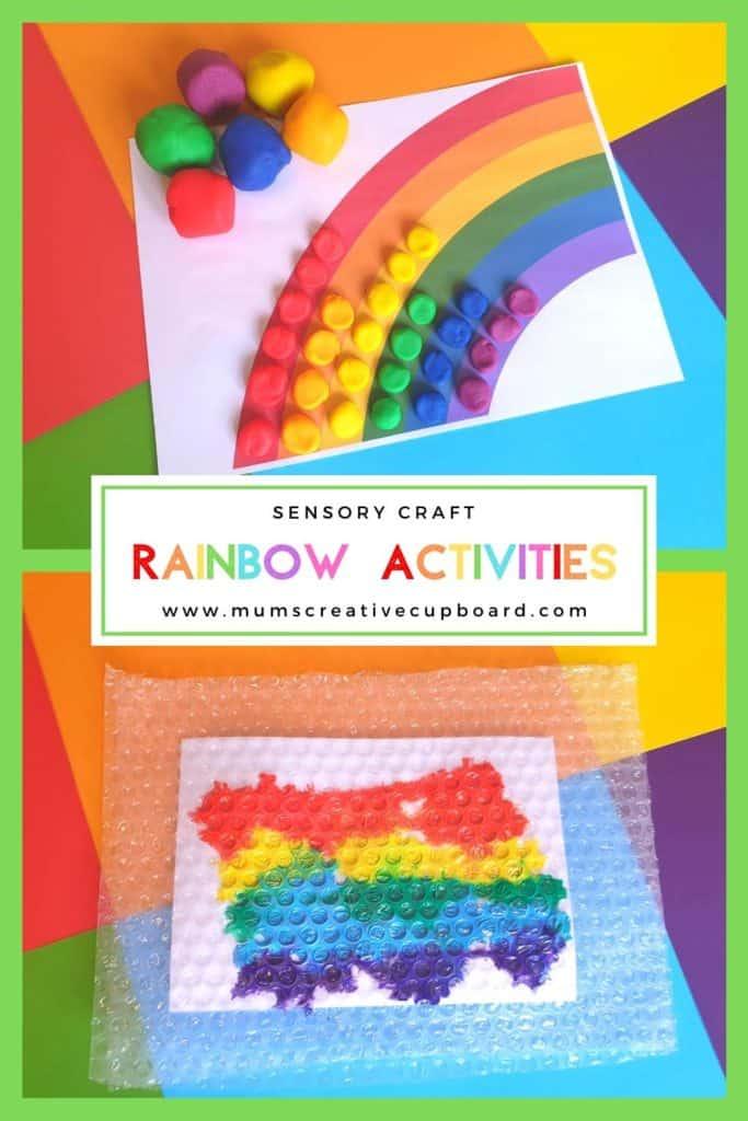 preschool rainbow crafts