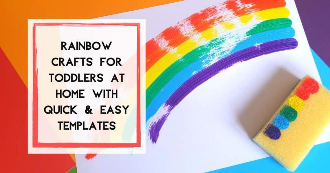 Preschool Rainbow Fine Motor Activities for Toddlers