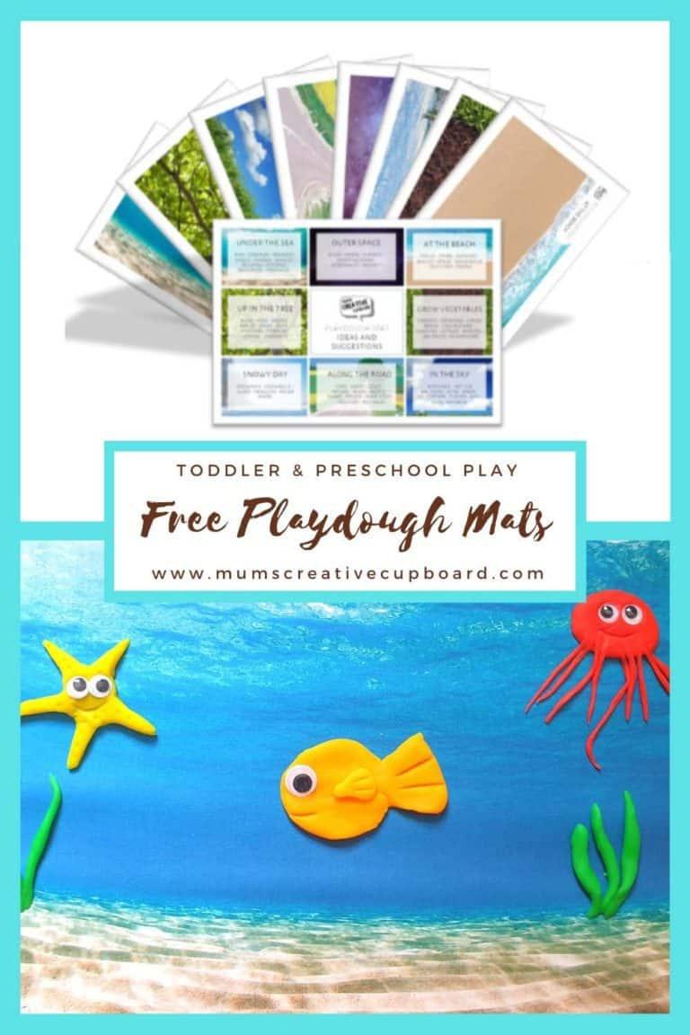 play dough mats free printables toddler