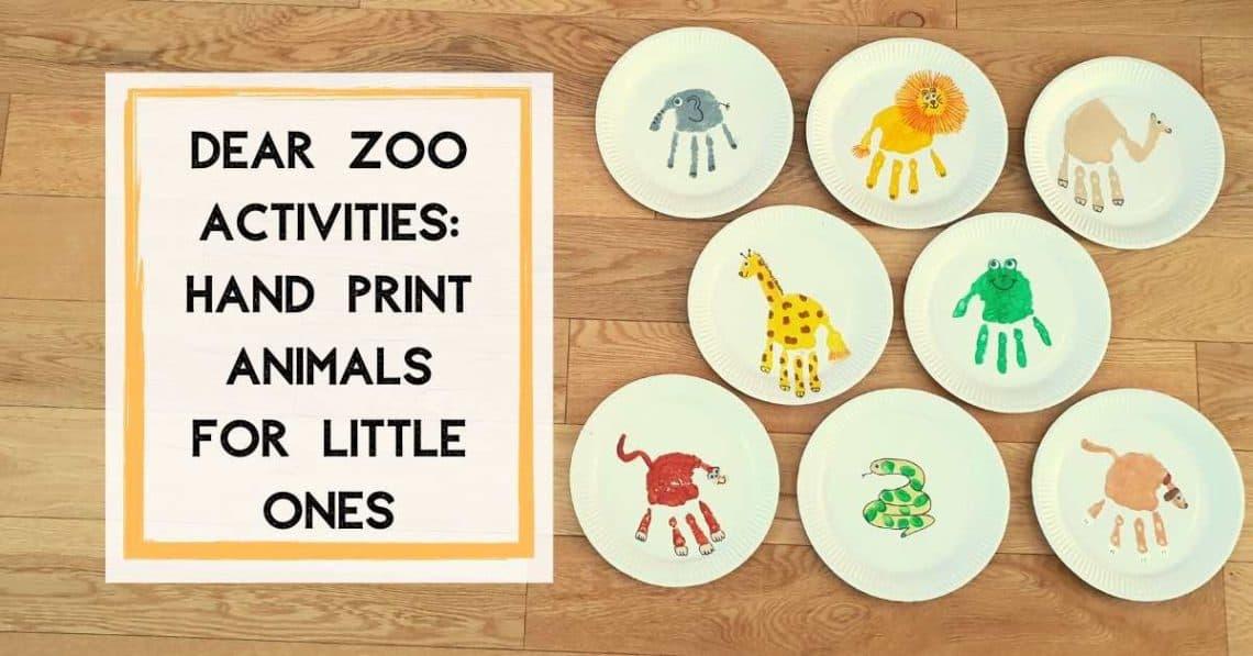 dear zoo activities preschool animal crafts