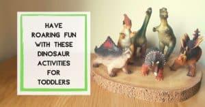 dinosaur toddler activities sensory play