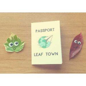 Leaf activity preschool free printable