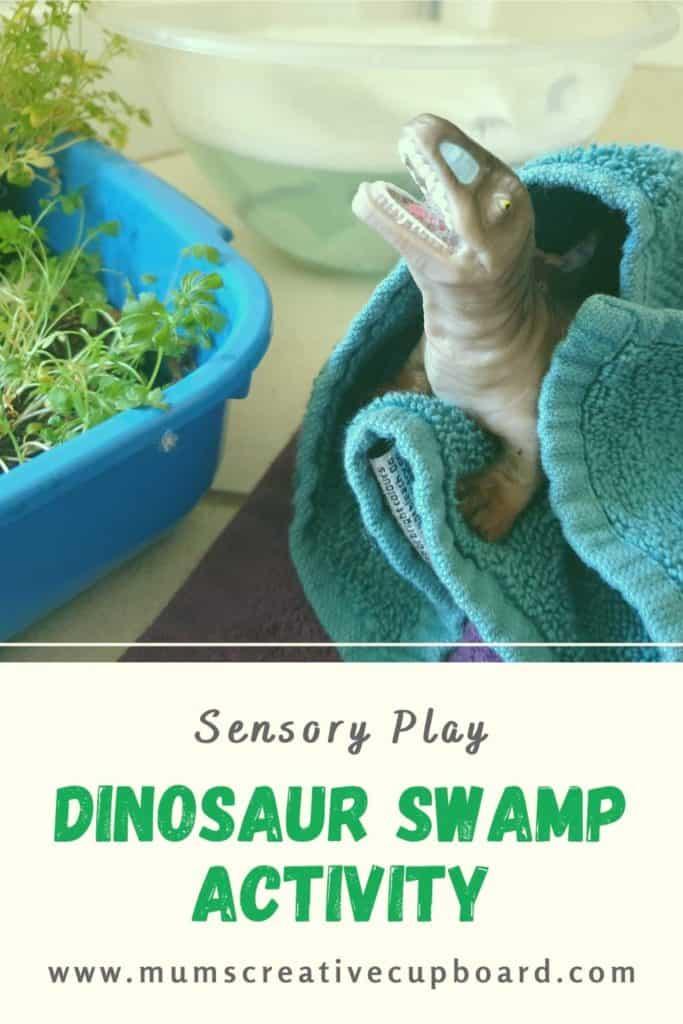 Dinosaur swamp activity