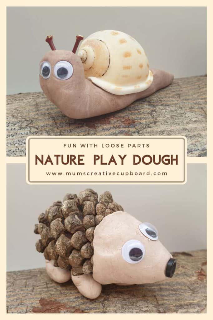Toddler Playdough Creatures