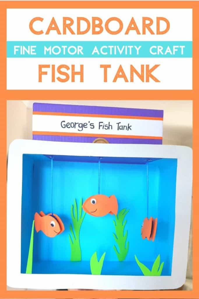 Cardboard Box Fish Tank