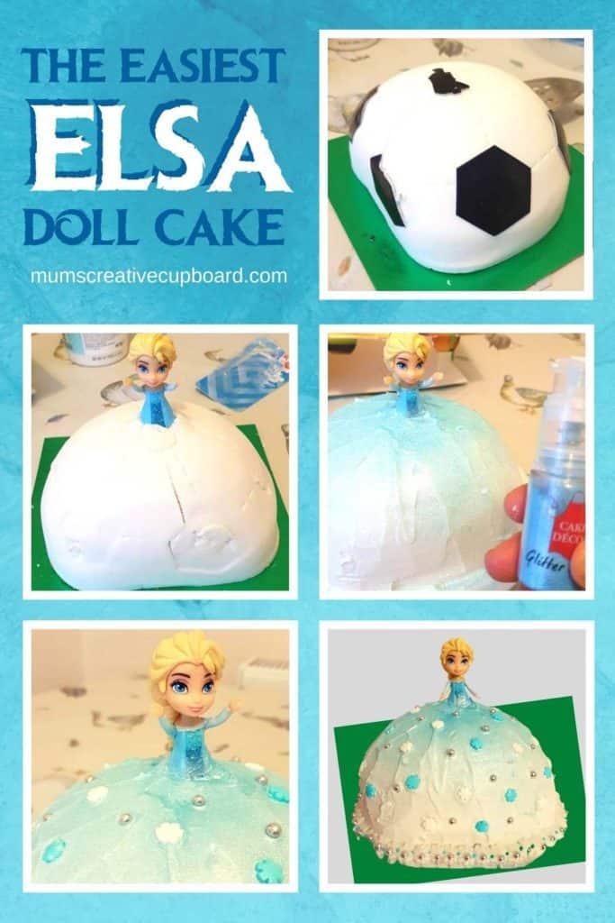 Easy Elsa Cake