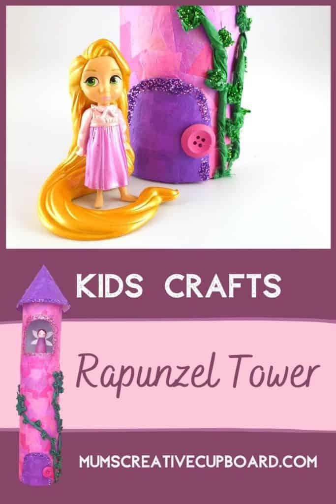 Fairy Castle Tissue Paper Craft