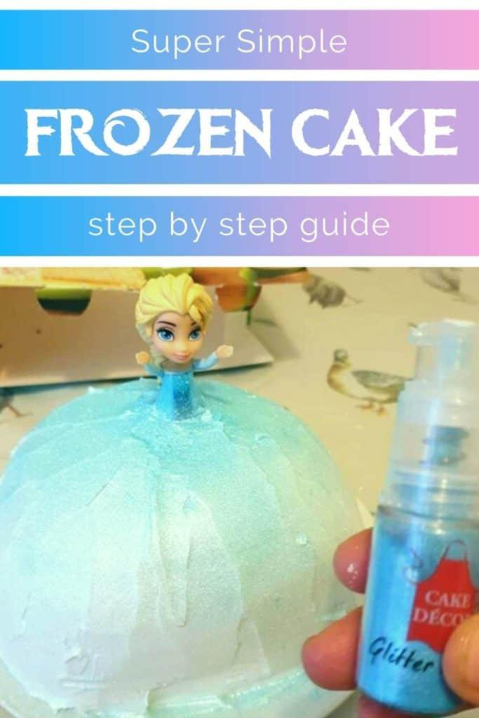 Easy Elsa Cake for toddlers