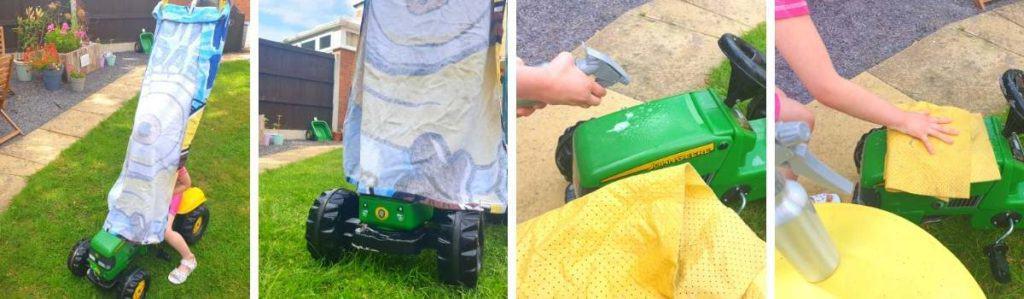 DIY Kids Car Wash