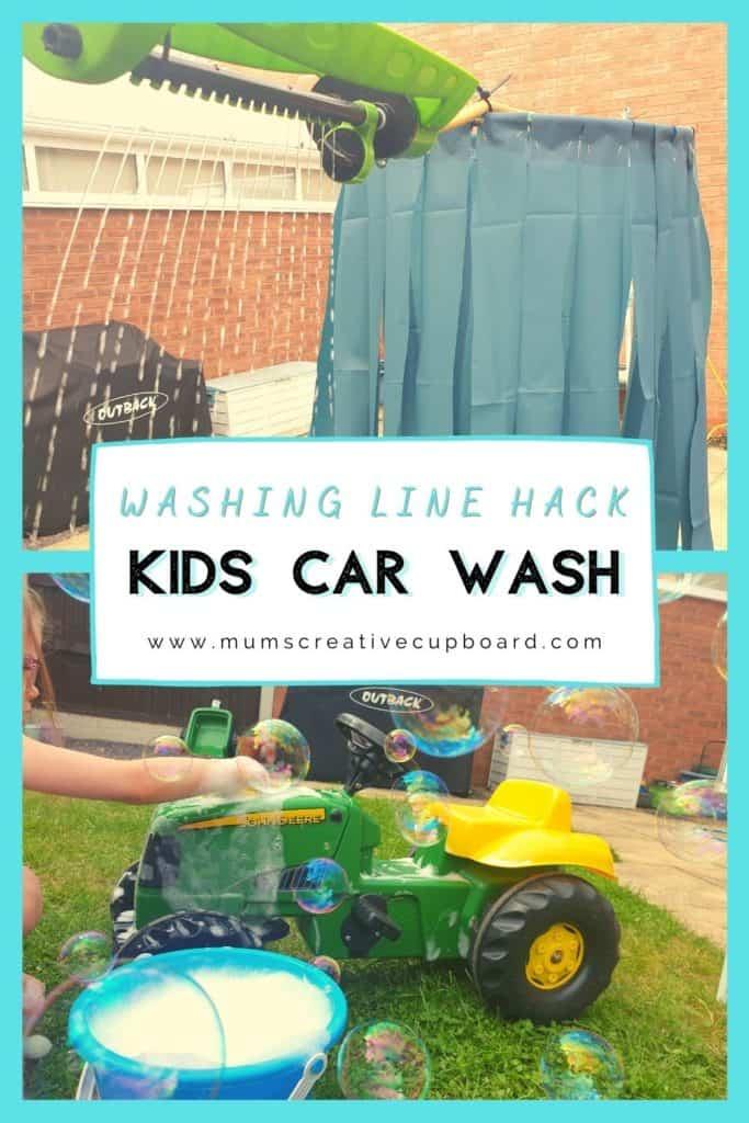 DIY Car Wash For Kids
