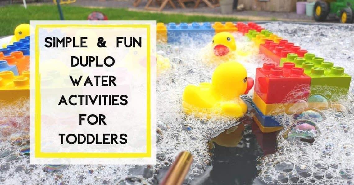 Water Play Ideas for Preschoolers