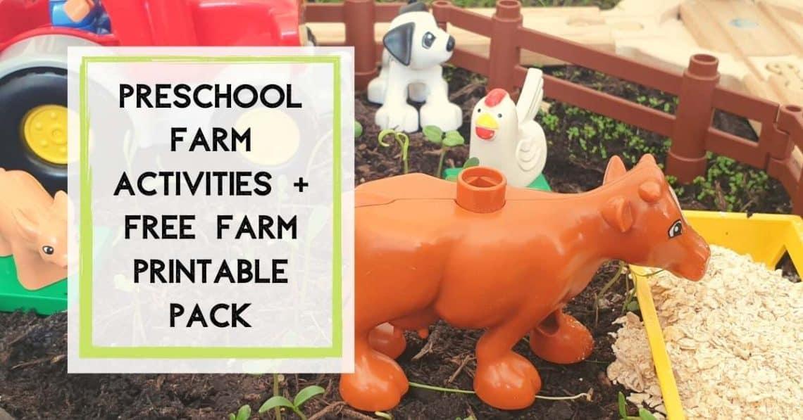 Preschool Farm Actvities