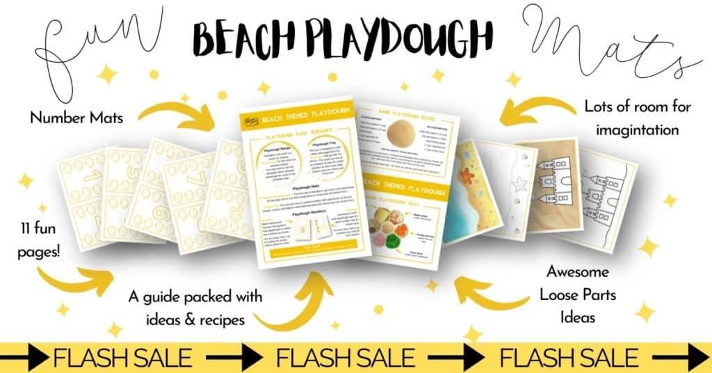 ocean printable playdough