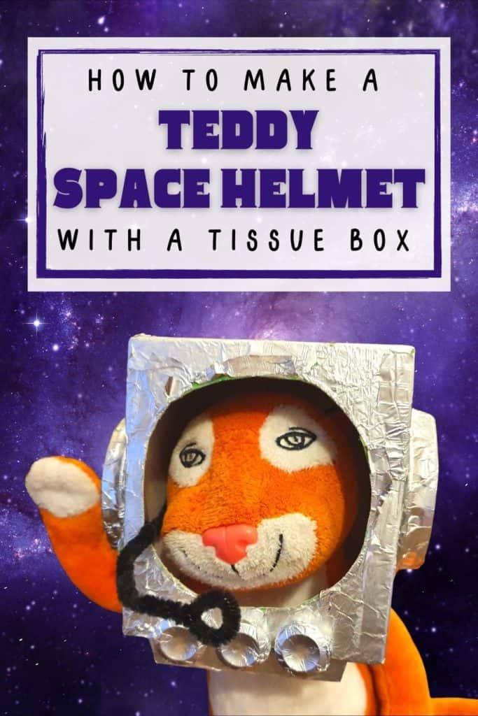 space helmet foil craft