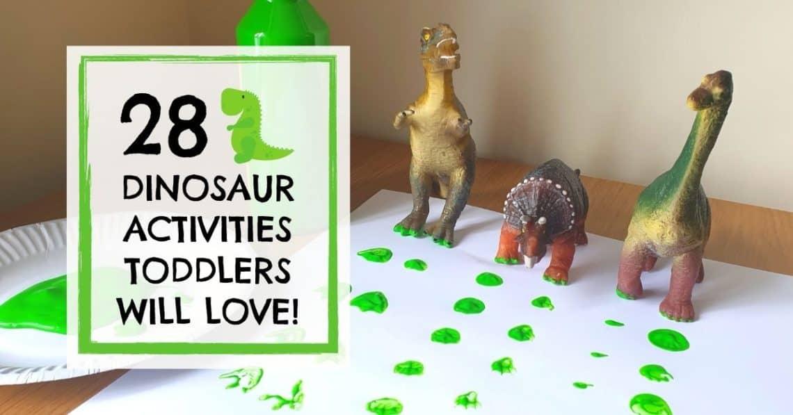 dinosaur prints painting
