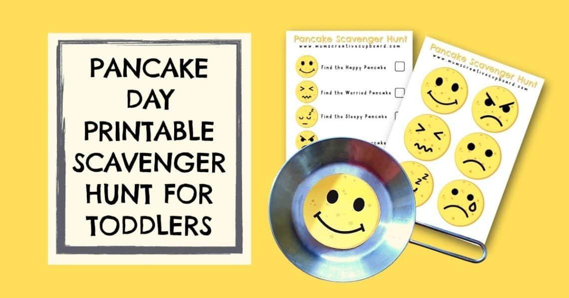 pancake printable activity worksheet free