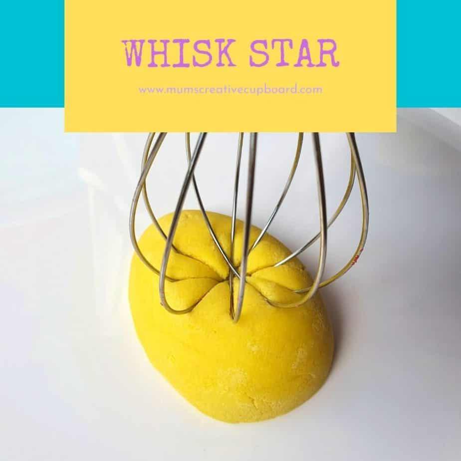 yellow whisk playdough print