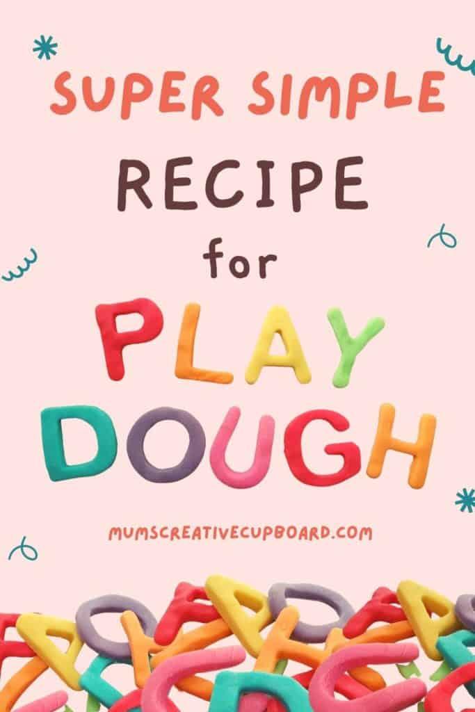 rainbow playdough play