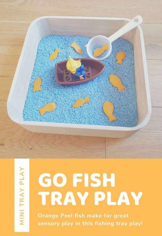 fish play tray