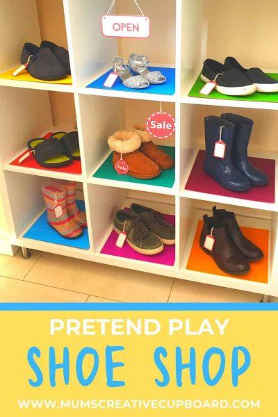 Pretend Play Shoe Shop