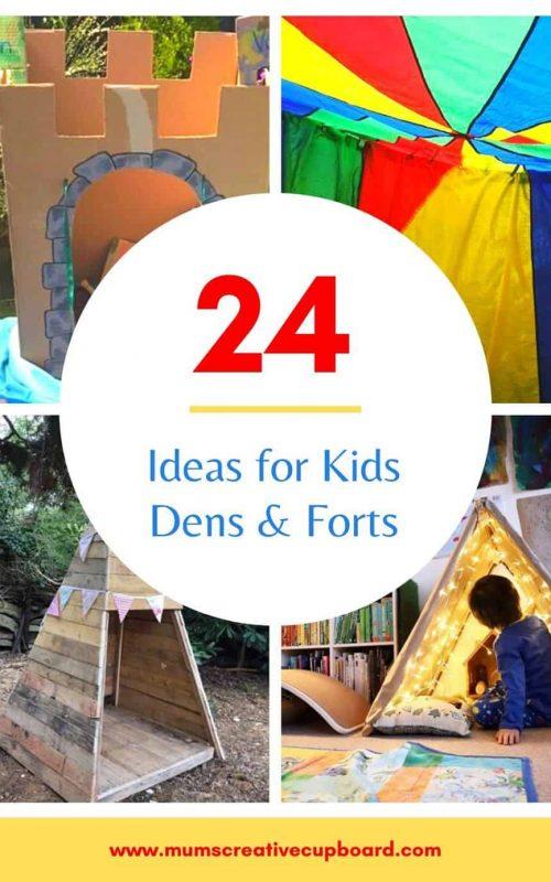 den building ideas for kids diy