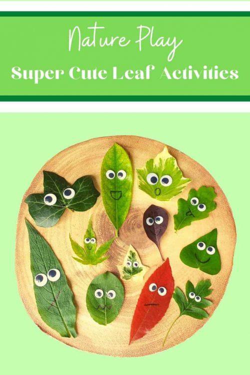leaf activities preschool ideas