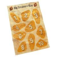 Toddler Treasure Map Free Printable